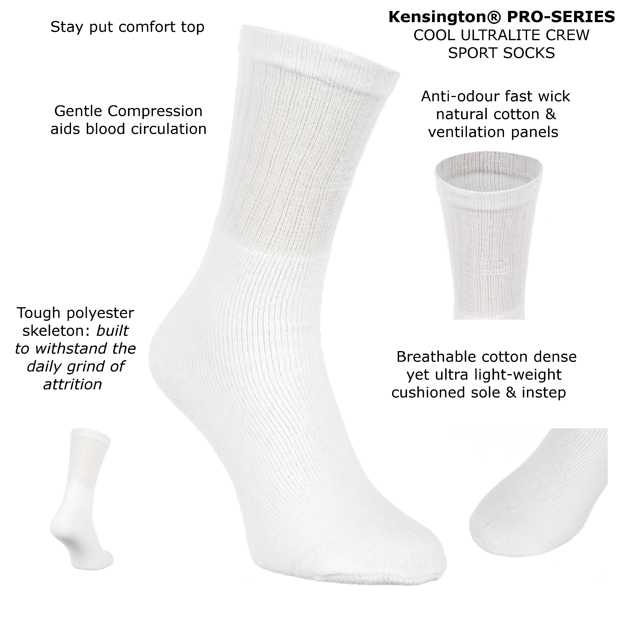 Kensington Sports Socks