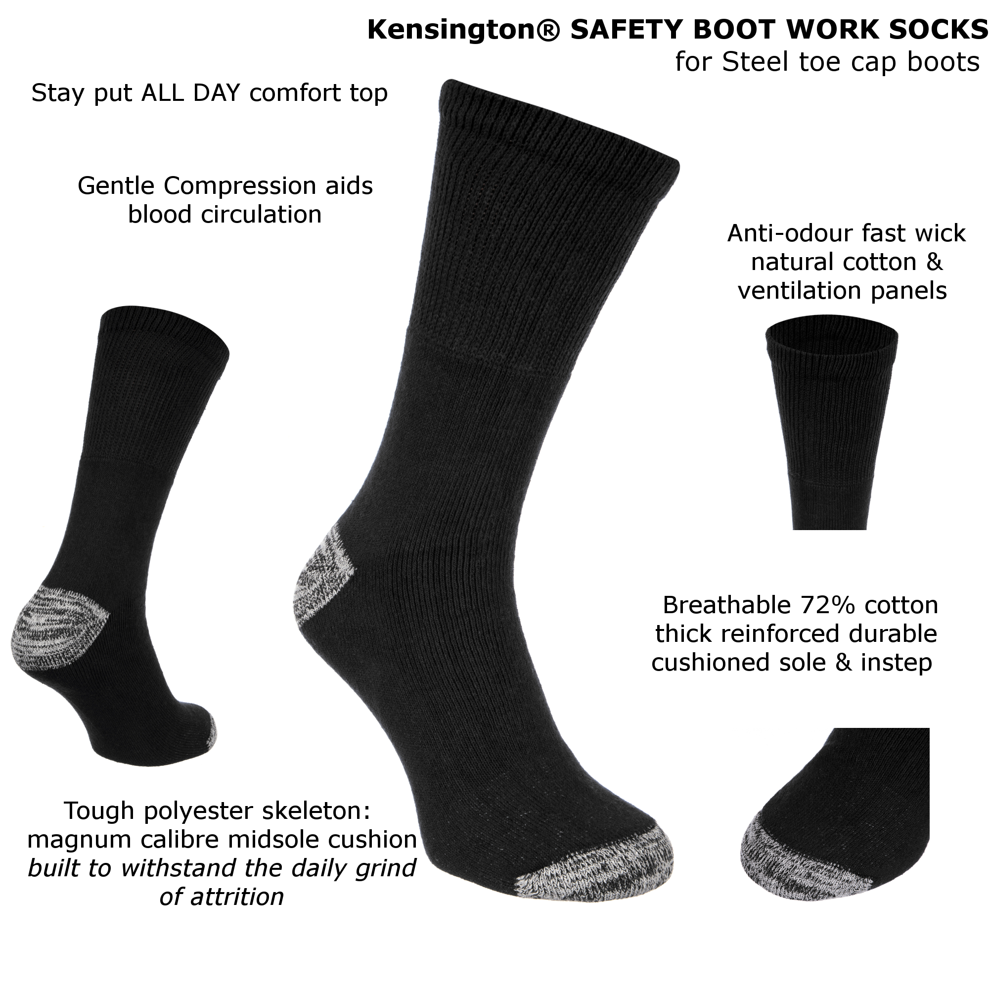 Kensington Work Socks